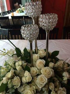 #Wedding #Event #Flowers #Florist #Mancusosweddings.com #Detroit #Michigan #Centerpieces #Crystal