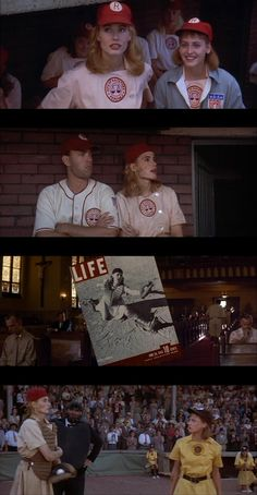 A League of Their Own.. Any softball player that says they didn't want to be Dottie when they grew up is a LIAR!!
