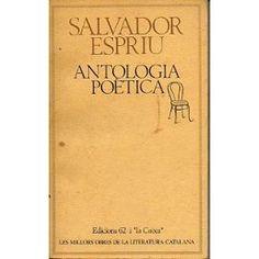 Antologia poètica de Salvador Espriu