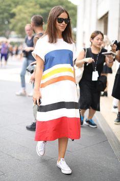 New York Fashion Week Spring 2015 Street Style