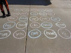 Twister with sight words