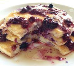 "birgenherlighet: ""Low-Carb Blueberry Protein Pancakes! RECIPE: 1 scoop Quest Multi-Purpose Mix 1 1/2 tbsp Splenda 1/2 tsp baking powder Dash of vanilla and almond extracts 1/3 cup liquid egg..."