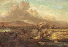 Philips Wouwerman - De oogst