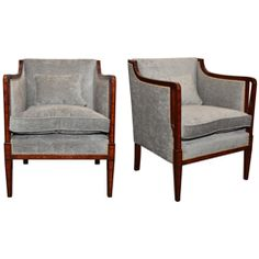 Two 1930s English Armchairs
