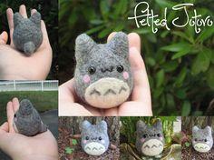Adorables muñecos de fieltro de Finn, Totoro y Pokémon