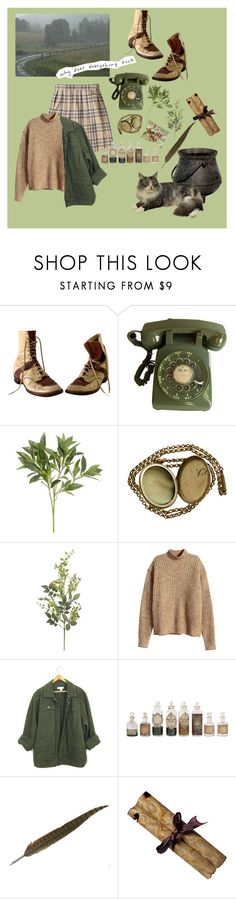 """unnamed"" by private-school-bully ❤ liked on Polyvore featuring Pier 1 Imports and H&M"