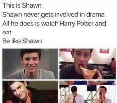 Be like Shawn ❤