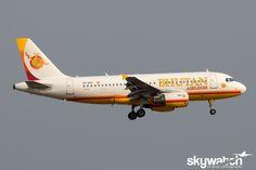 Bhutan Airlines A5-BAC (Airbus A319 - MSN 1551) - Bangkok