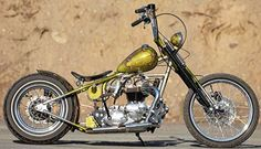 Custom 1965 Triumph Chopper at Cyril Huze Post – Custom Motorcycle ...