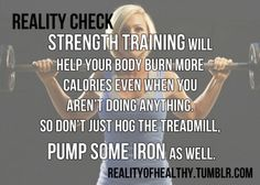 it's time to pump some iron.