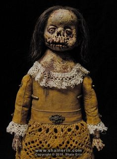 From the twisted mind of Shain Erin, check out his creepy collection of surrealist fine art sculpted dolls.