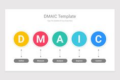 DMAIC Model PowerPoint PPT Template is a professional Collection shapes design and pre-designed template that you can download and use in your PowerPoint. The template contains 20 slides you can easily change colors, themes, text, and shape sizes with formatting and design options available in PowerPoint. Ppt Template, Templates, Keynote, Infographics, Color Change, Presentation, Diagram, Shapes, Colors