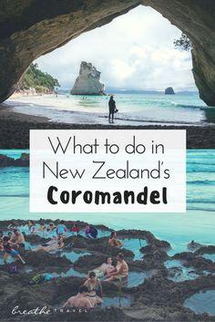What To Do in New Zealand's Coromandel - Breathe Travel | Neuseeland Tipps für Coromandel