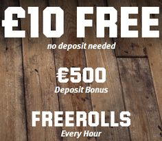 Free Spins Casino: New Unibet Poker – £/€10 FREE, NO DEPOSIT REQUIRED...