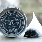 Tea Tin Homemade Gift Idea with Printable Chalkboard Labels