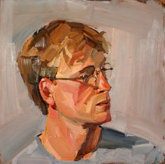 Oliver Akers Douglas - Self Portrait