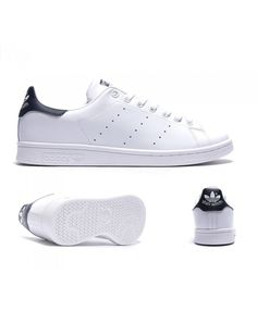 sale retailer ff894 d888d Adidas Originals Stan Smith White Navy Trainers Sale UK Navy Trainers, Mens  Trainers, Adidas