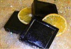 Jabón exfoliante de café y naranja