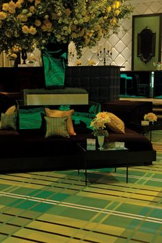 Love the green/brown color scheme private_events233