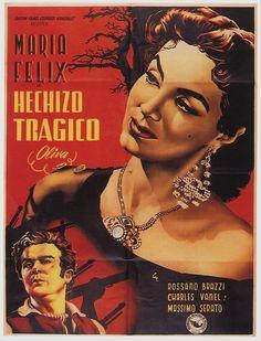 Maria Felix Poster Hechizo Tragico Tragic Spell Unique Only $6 99 | eBay