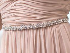 Pink Wedding Dress with Belt