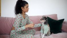Doggy & Me - Match with your dog. For a special occasion or for simply being lazy around the house. Animals And Pets, Baby Animals, Funny Animals, Cute Animals, Puppies And Kitties, Cute Puppies, Cute Dogs, Doggies, I Love Dogs