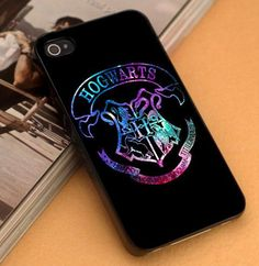 Harry Potter Deathly Hallows Galaxy - iPhone 4/4s,5,5s,5c and Samsung S2,S3,S4 - Plastic Rubber
