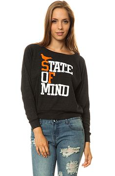 The State of Mind Wide-Neck Pullover by Adapt
