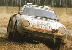 germancarsblog: Porsche 959 rally raid car