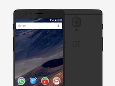 OnePlus 3 mockup for Sketch