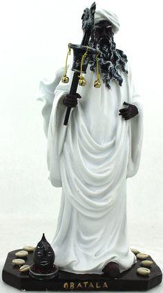 Obatala, Orisha of Peace and Justice Epa Baba, Yoruba Orishas, Afro, African Mythology, Yoruba People, World Religions, African Diaspora, Gods And Goddesses, Poses