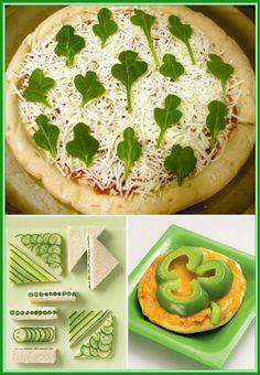 Green food for kids #HTCGreen #HTC #Green #Food
