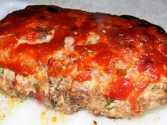 Kate's Cure for the Common Cuisine: Skinny Meatloaf with a Snazzy Ketchup Sauce