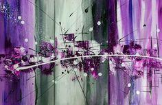 -40% sur toute ma boutique sans conditions !!! avec le code NOEL. Triptyque abstrait : Peintures par bea-quaker-creations