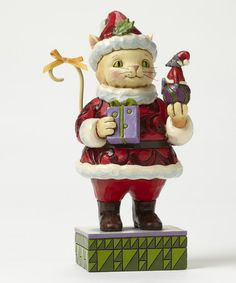 Another great find on #zulily! Cat & Mouse Holiday Figurine by Jim Shore #zulilyfinds