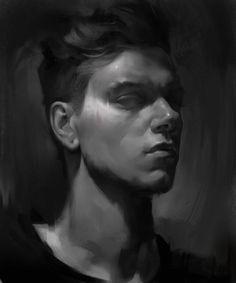 Self portrait, Daniel Walsh on ArtStation at https://www.artstation.com/artwork/self-portrait-1bd77712-d000-45d1-a1aa-3ef59adefb24