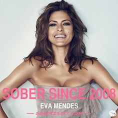Beautiful Eva! Sober is Sexy. #SoberSince #Recovery