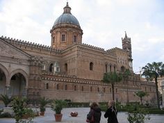 Partial view of cathedral in Palermo, Sicily. - Utrip Travel Plan