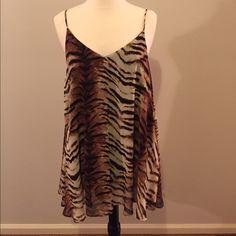 Show Me Your Mumu dress tiger print Mumu dress!! only worn once!! Show Me Your MuMu Dresses Mini