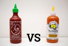 Sriracha vs. spicy newcomer Yellowbird