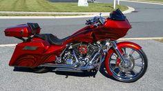 Road glide street glide custom 26 front ends harley davidson paint audio - American motorbike garage ...