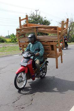 Indonesië - Java - verhuizen