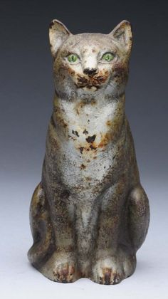 Cast iron doorstop cat from Liveauctioneers.com (Pharyah)