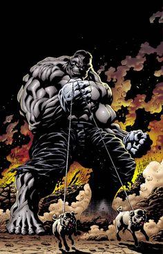 Grey Hulk by Kyle Hotz