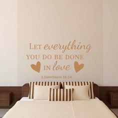 Bible Verse Wall Decal Christian Wall Decal Family Wall Decal - Wall decals christian