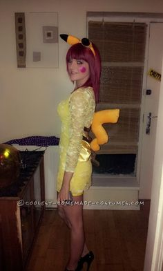 Easy Pikachu Halloween Costume ... This website is the Pinterest of costumes