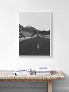 Black and White Print,Mountain Print,Scandinavian Print,Forest Print,Scandinavian Prints,Scandinavian Wall Art,Black and White,Nordic Print