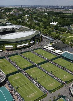 Wimbledon! London <3