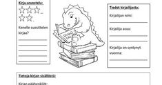 Kirjaraportti. Writing, Education, Reading, Memes, Meme, Reading Books, Onderwijs, Being A Writer, Learning