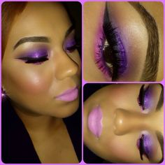 purple is my favorite color and i love this look